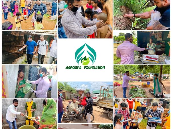 AAROGYA FOUNDATION Let's Come together to Help