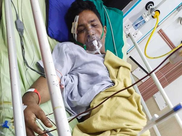 Support Ajitkumar Ramcharitra Singh Recover From Accidental Injuries