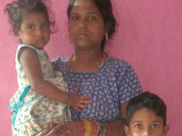 Help Kranthi's children for education after his sudden demise