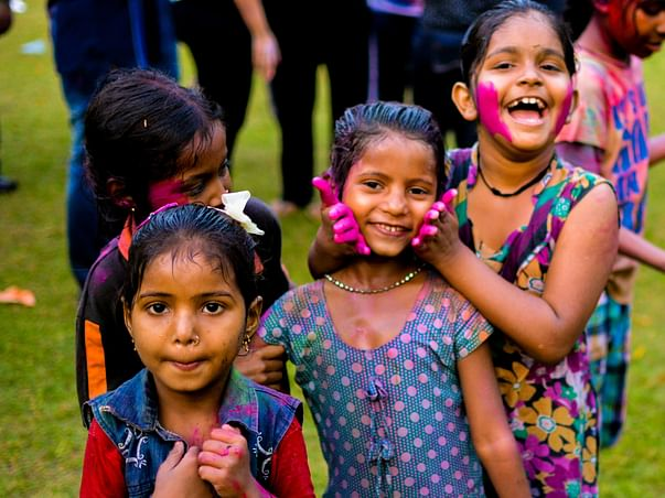 Support For 85 Underprivileged Kids Education In Ahmedabad