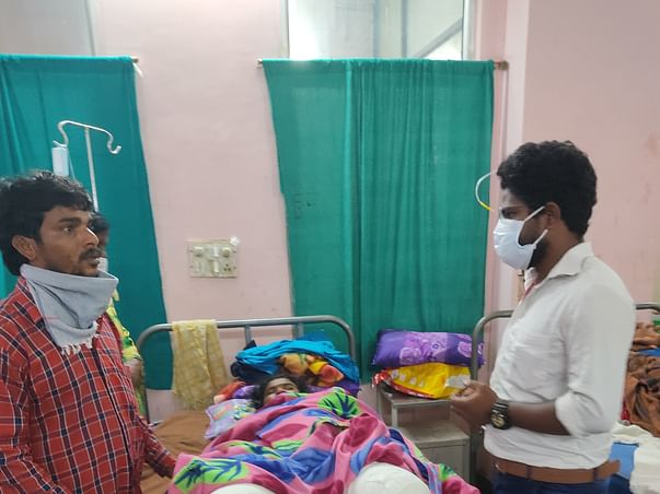 5 Months Pregnant Anitha lost legs as slipped off from a moving train