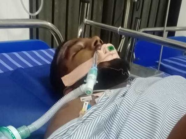 Support Santosh To Recover From Accidental Injuries