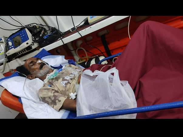 55 Years Old Manish Needs Your Help To Recover Accidental Injuries