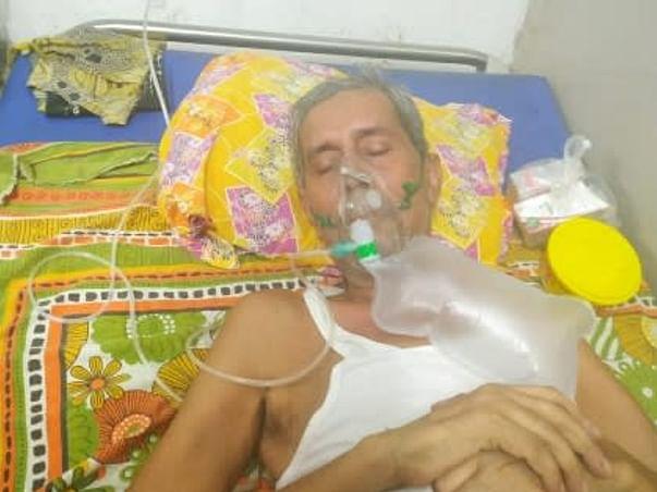Help Tapan Sahana to fight 90% damaged lungs