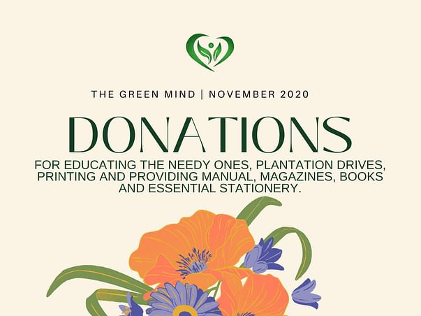 The GREEN MIND Donation