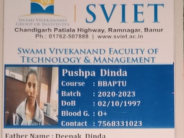 Help Pushpa Dinda with BBA 2nd year fees