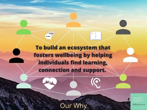 Help us expand and deepen the Wellbeing Movement!