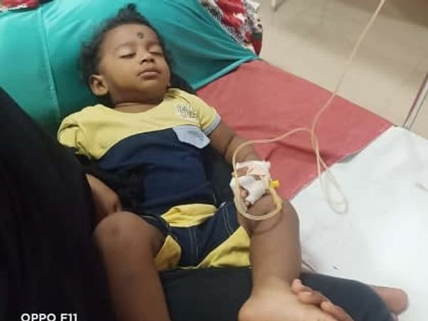 Baby Iniyan.S Needs Your Help Fight Severe Aplastic Anemia