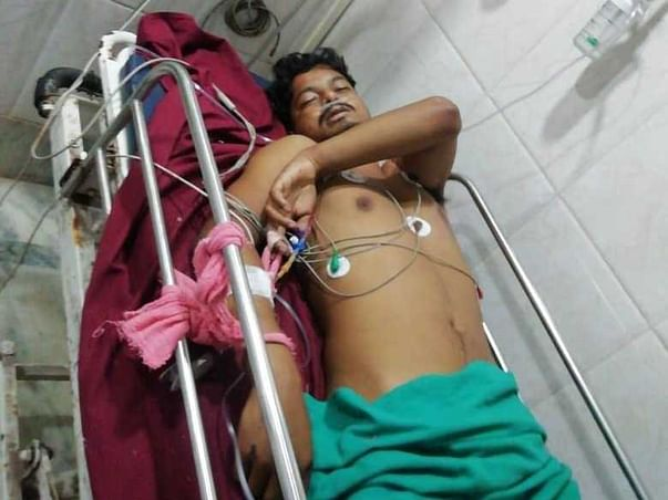 Support Debashis Chandra Recover From Accidental Injury