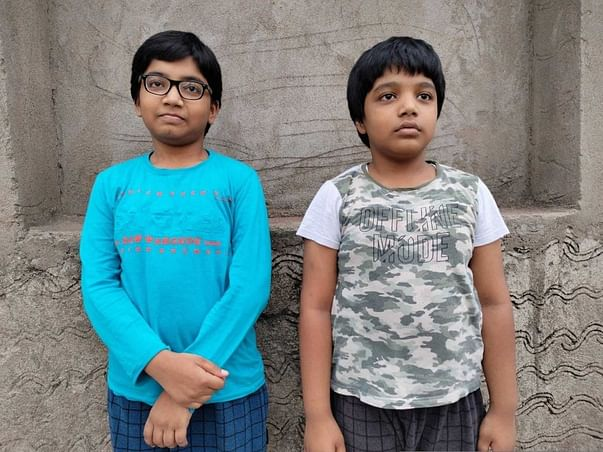 Help Two Small Brothers To Continue Their Education