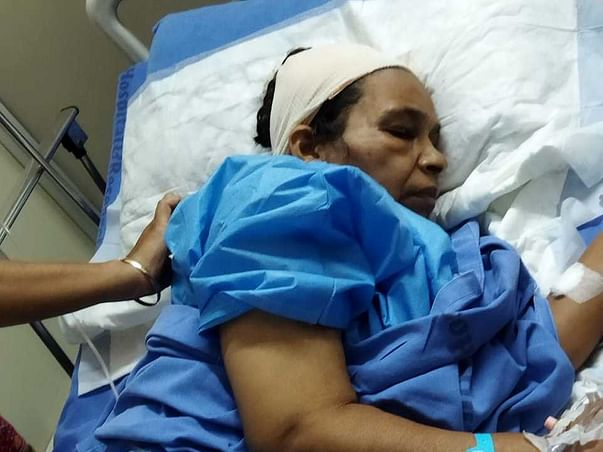 Support My Aunt To Recover From Brain Tonsils