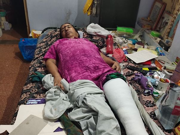 Help My Grandmother To Overcome Leg Fracture