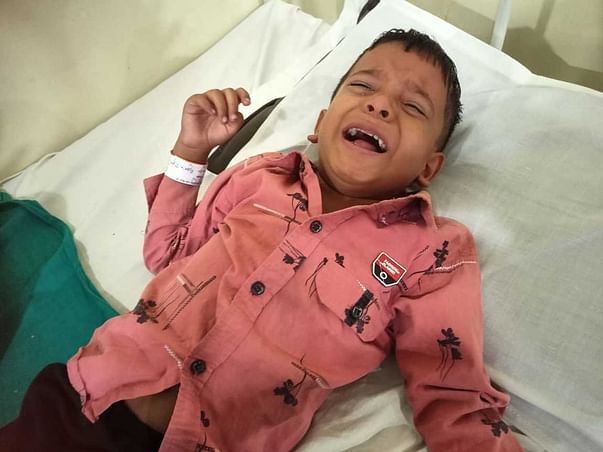 This 5 months old needs your urgent support in fighting Brain tumor