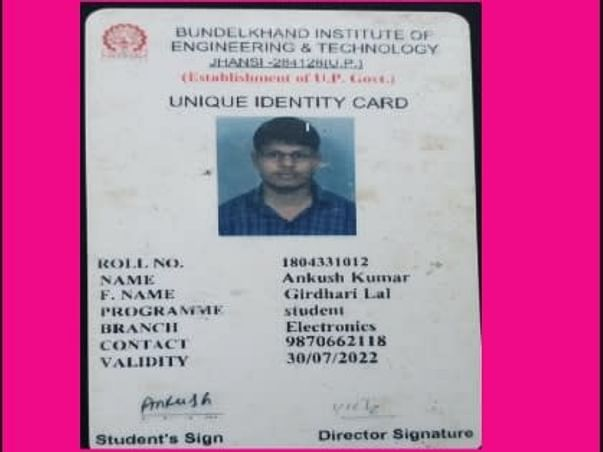 Support Ankush Kumar To Complete His Education