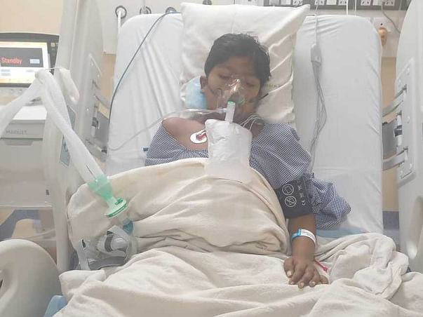 13-Years-Old Tushar Needs Your Urgent Support To Fight Scrub Typhus