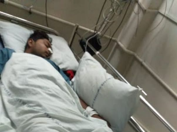 20 Years Old Vijay Kumar Needs Your Help Recover From Severe Complications Due To Dengue Fever