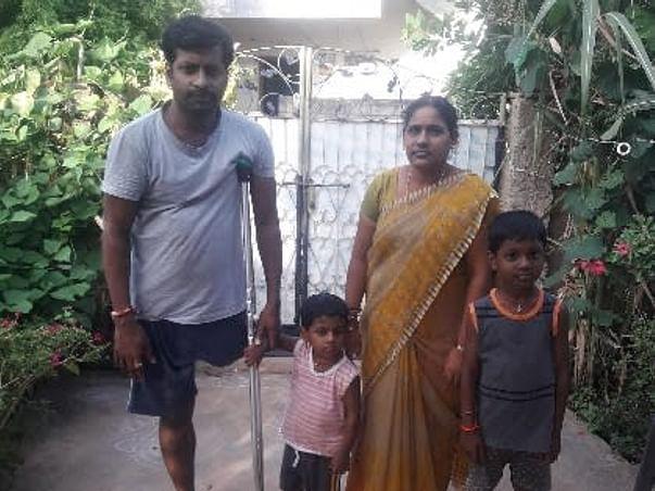 Support Seelam Satish To Undergo Artificial Leg Implantation
