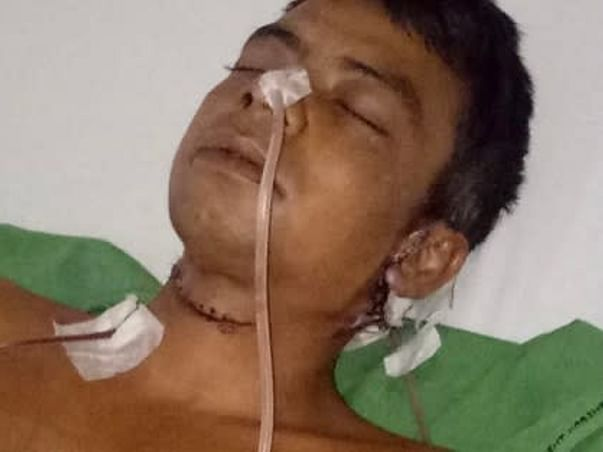 Help Utpal To Fight Throat Cancer