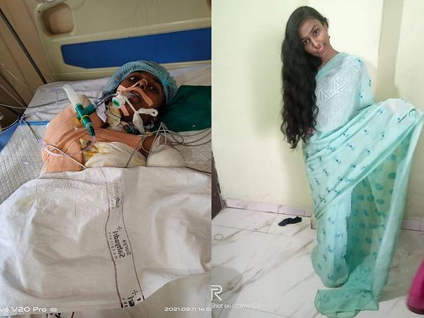 Help My Daughter Fight Burn