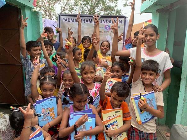 Help to Educate India Slum children