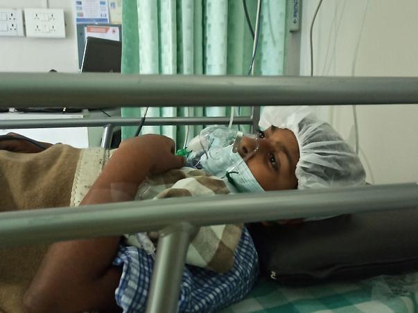 12 years old Swayam Chandrakant Hinge needs your help fight Tetralogy Fallot Pulmonary Atresia