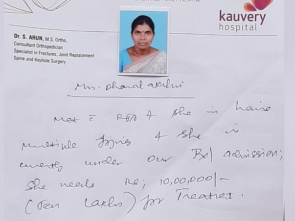 45 Years Old Dhanalakshmi Needs Your Help Recover From Road Accident