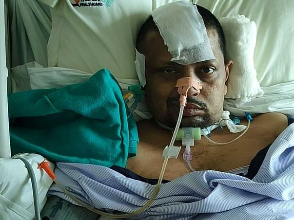 Support Punyabrata Recover From Brain Stroke