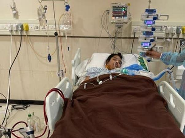 Help Raveena to see her infant again