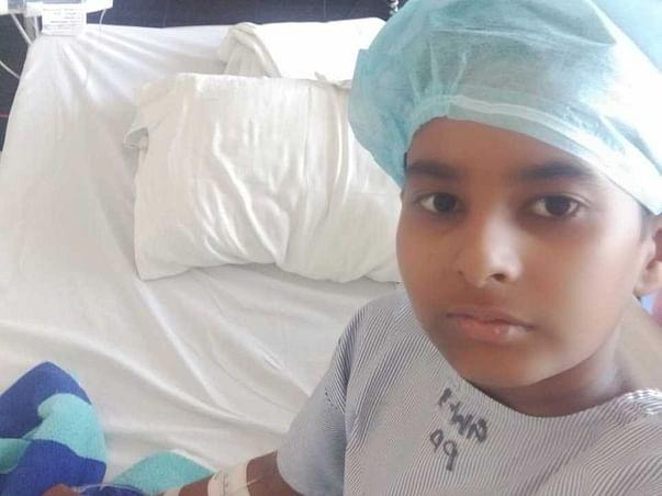 11 Years Old Akash Sahu Needs Your Help Undergo Bone Marrow Transplant