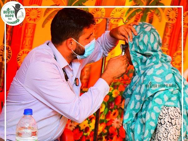 Medical Camp for Better Health of Kashmiri Rural Population