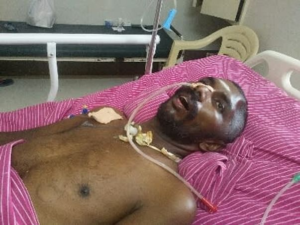 Support Sakthivel  To Recover From  Accidental Injuries