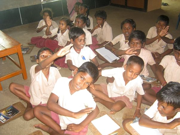 I am fundraising to give a head start to 100,000 students of Grade IV and V across rural TN