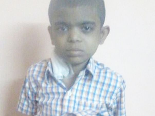 Fundraising to help my nephew Atharva fight a fatal kidney disorder. Please support my campaign!