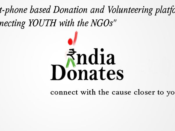 I am fundraising to build a smart technology platform for donation and volunteering in India