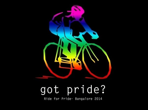 I am cycling to join The Ride With Bangalore Pride