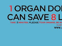 Fundraising to help us save lives. Help ORGAN India spread awareness on organ donation