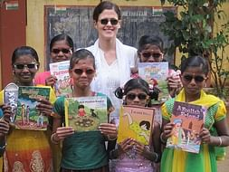 I am pledging my birthday to open a whole new world to rural and tribal girls through books