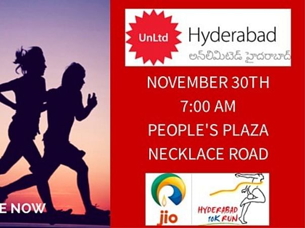 I am running a marathon to support Social Entrepreneurs of UnLtd Hyderabad in AP and Telangana