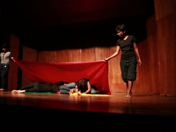 I am fundraising to help 12 Mumbai red-light area girls travel with their play, Lal Batti Express!