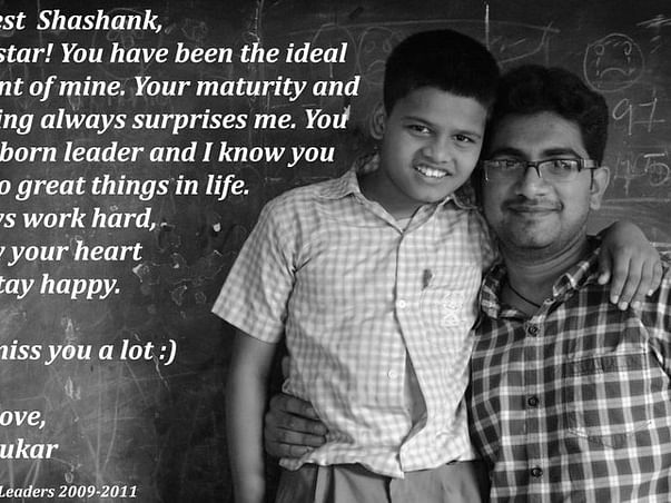 I am fundraising for completing Shashank's Secondary Education - Crossing his first biggest milestone and helping him achieve his dream!