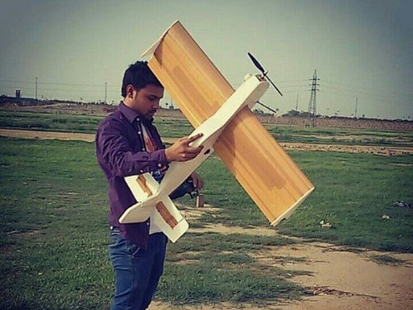 Fundraising to design a drone and participate in AUVSI competition in Maryland. Support our project!