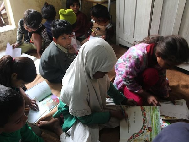 Fundraising to create reading spaces for underprivileged children