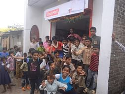 I am fundraising to build A Library for children in Varangaon Village