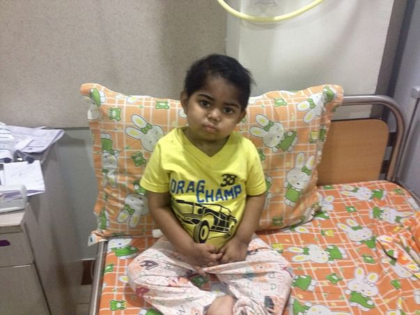 I am fundraising for GVHD AND INFECTION TREATMENT OF MY SON RHYTHM