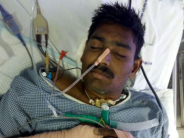 I am fundraising to save Karthik