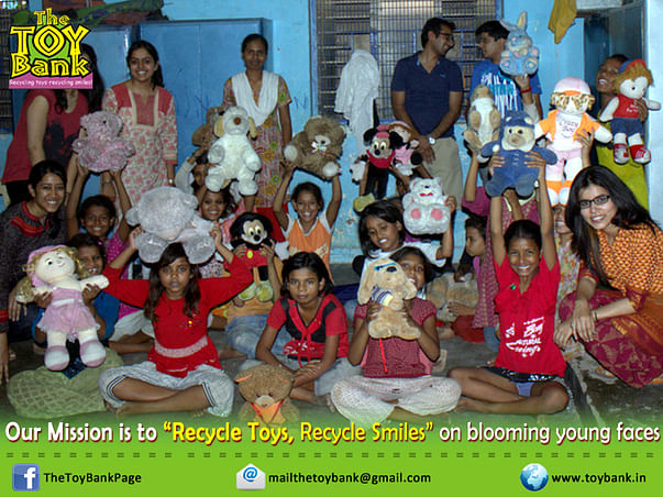Recycling toys and recycling smiles