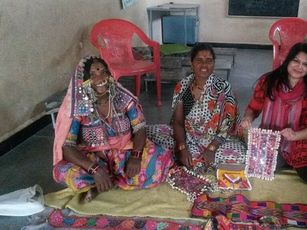 I am fundraising to promote arts and crafts in India by contributing to social development.