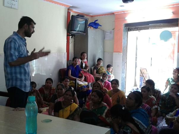 I am fundraising to create entrepreneurs out of urban slum youth & women