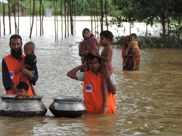 I am fundraising to be human by helping humans in need-Chennai needs our help