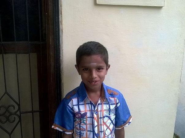 I am fundraising for Harisudhan's bone-marrow transplant